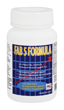 Doctors Patented Fab 5 Formula