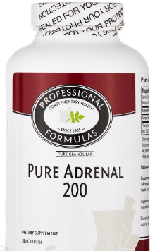 Pure Adrenal 200 - 180 caps