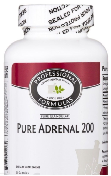 Pure Adrenal 200 - 60 caps