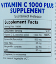 Vitamin C 1000 Plus - 180 tablets