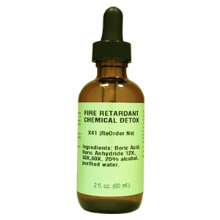 Fire Retardant Chemical Detox 2oz