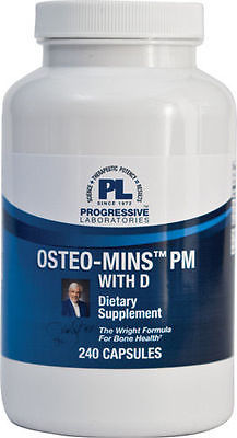 Osteo-Mins PM with D 240 caps Calcium bone and joint health