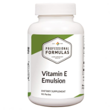 Vitamin E Emulsion - 90 perles
