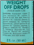 Weight Off Drops - 2oz
