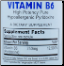 Vitamin B6 Pyridoxine - 90 caps